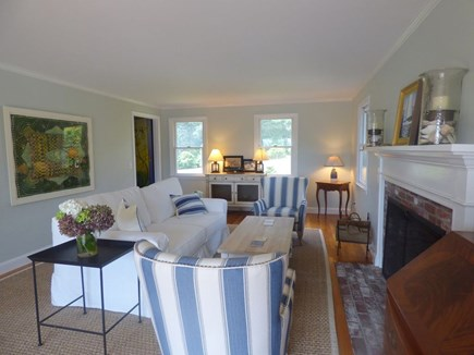 South Orleans on Pleasant Bay Cape Cod vacation rental - Main House Living Room