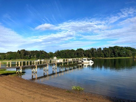 South Orleans on Pleasant Bay Cape Cod vacation rental - Private Association Dock and Beach on Quanset Pond, Pleasant Bay