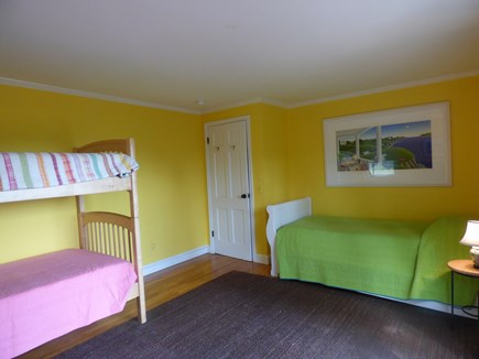 South Orleans on Pleasant Bay Cape Cod vacation rental - Main House 1st Floor BR with 3 Twins