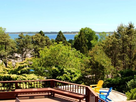 South Orleans on Pleasant Bay Cape Cod vacation rental - Hang Out on the Big Deck after Fun Day at the Beach!