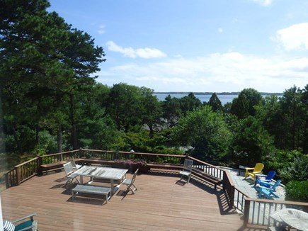 South Orleans on Pleasant Bay Cape Cod vacation rental - Sprawling Deck with Water Views!