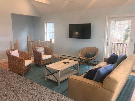 South Orleans on Pleasant Bay Cape Cod vacation rental - Apartment Living Area, with Water Views
