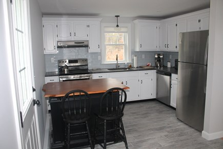 Wellfleet Cape Cod vacation rental - Kitchen with eat in bar