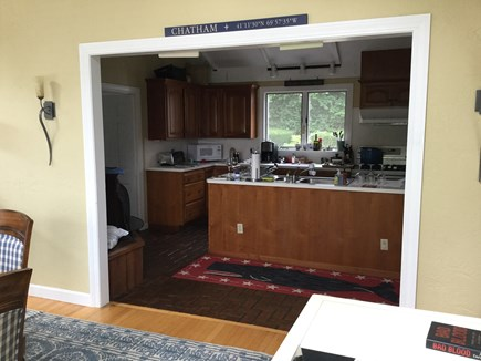 Chatham Cape Cod vacation rental - View from Dining Room into Kitchen