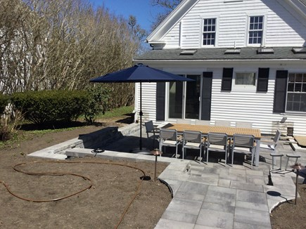 Chatham Cape Cod vacation rental - Dinner for 10 on the new extended patio
