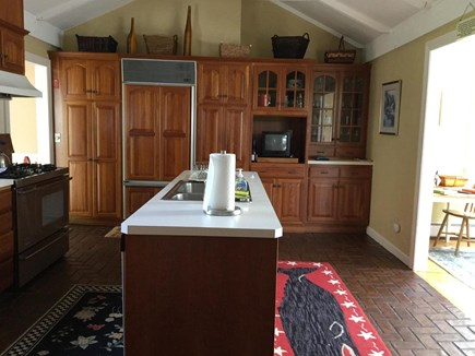 Chatham Cape Cod vacation rental - View of Kitchen from Mudroom