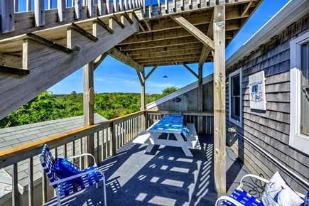 East Sandwich Cape Cod vacation rental - Large Deck
