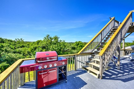 East Sandwich Cape Cod vacation rental - View of Deck & Grill