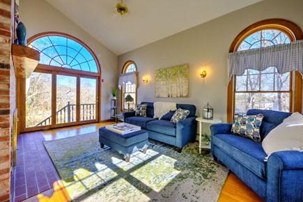Bourne, Sagamore Beach Cape Cod vacation rental - Living room
