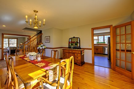 Bourne, Sagamore Beach Cape Cod vacation rental - Dining room