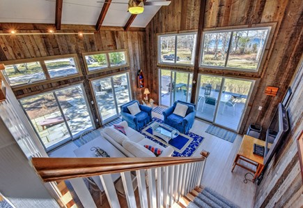 Bourne, Pocasset Cape Cod vacation rental - View from loft