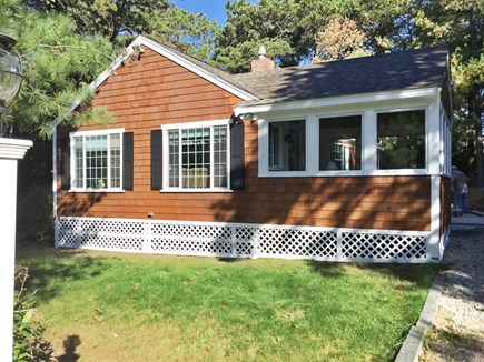 Chatham Cape Cod vacation rental - Front of the Cottage