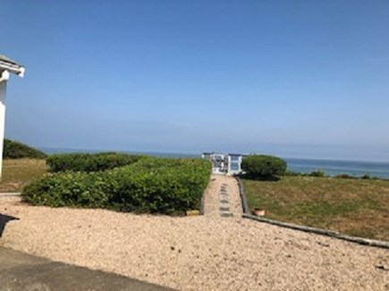 Dennis Cape Cod vacation rental - Your back  yard & private stairs to your Beautiful Private Beach!