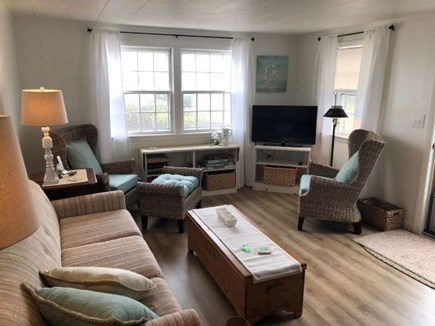 Dennis Cape Cod vacation rental - Comfortable living room with 1 of 2 Flat screen cable TV's