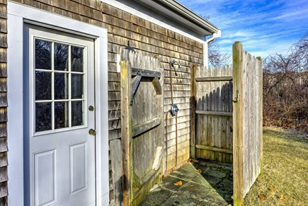 East Sandwich Cape Cod vacation rental - Outdoor shower