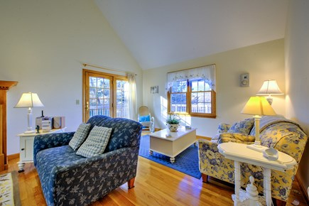 East Sandwich Cape Cod vacation rental - Living room & sitting area