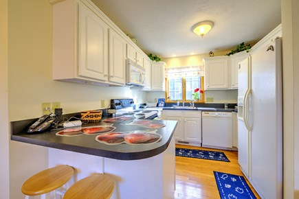 East Sandwich Cape Cod vacation rental - Kitchen with breakfast bar