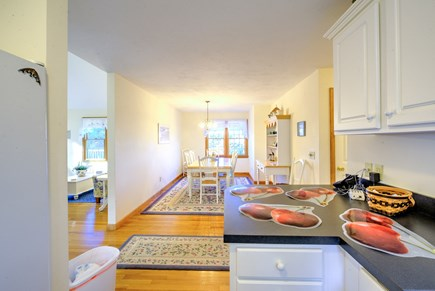 East Sandwich Cape Cod vacation rental - Another view of Kitchen and Dining area