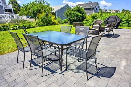 Sandwich, Town Neck Cape Cod vacation rental - Outdoor patio with furniture