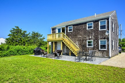 Sandwich, Town Neck Cape Cod vacation rental - Private back yard