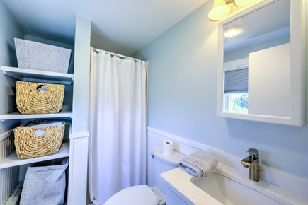 Sandwich, Town Neck Cape Cod vacation rental - Master Bath - up