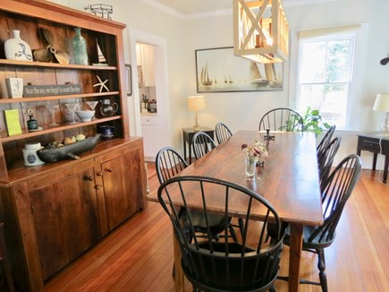 Chatham Cape Cod vacation rental - Seating for 8 at the dining table