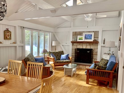 Eastham Cape Cod vacation rental - Dining area flows to living room & kitchen in an open floor plan.