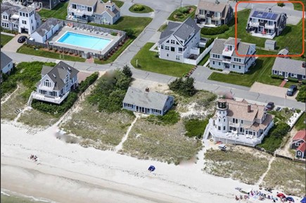 West Yarmouth Cape Cod vacation rental - Steps to the pool and he beach