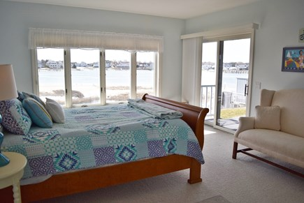 West Yarmouth Cape Cod vacation rental - 1st floor Queen Master Bedroom with bath
