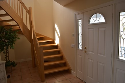 West Yarmouth Cape Cod vacation rental - stairway to 2nd floor living