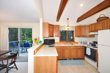 Eastham Cape Cod vacation rental - Kitchen facing east