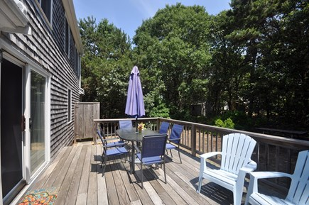 Eastham Cape Cod vacation rental - Outdoor shower, private, wooded yard