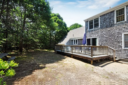 Eastham Cape Cod vacation rental - View from cleared part of wooded back yard.