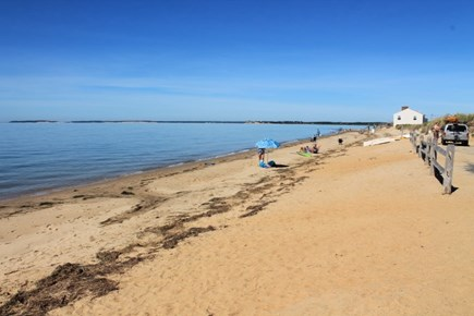 Eastham Cape Cod vacation rental - Sunken Meadow beach on the bay less than 1 mile from our house.
