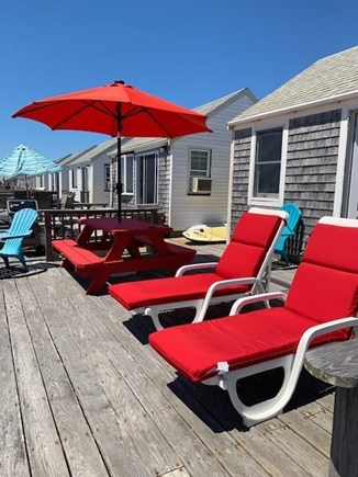 N. Truro Cape Cod vacation rental - Relax on the deck