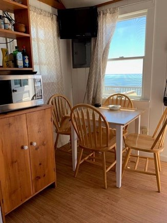N. Truro Cape Cod vacation rental - Dining area