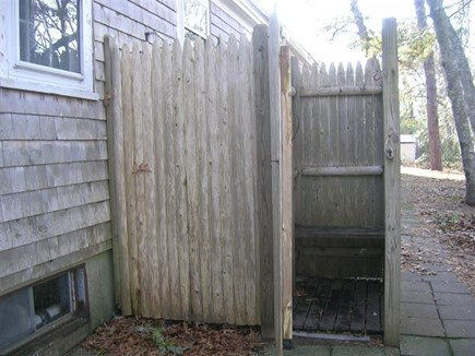 Chatham Cape Cod vacation rental - Outdoor h/c shower