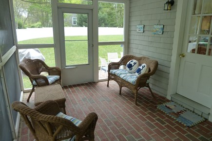 South Yarmouth Cape Cod vacation rental - Screened in porch