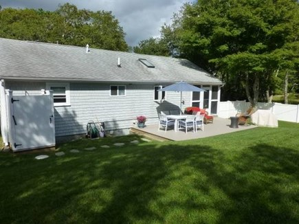 South Yarmouth Cape Cod vacation rental - Fully fenced in backyard including outdoor shower