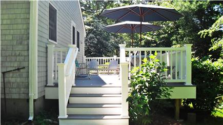 N. Falmouth-Wild Harbour Estat Cape Cod vacation rental - New Deck with natural gas grille