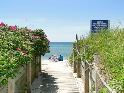 N. Falmouth-Wild Harbour Estat Cape Cod vacation rental - Ten minute walk to private Wild Harbour Estates Beach