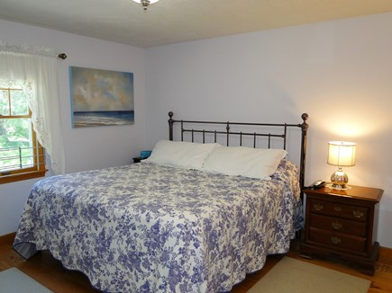 N. Falmouth-Wild Harbour Estat Cape Cod vacation rental - King size master bedroom with walk in closet and master bath.