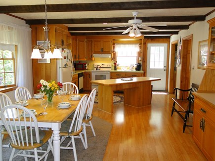 N. Falmouth-Wild Harbour Estat Cape Cod vacation rental - Spacious kitchen and dining area with ample seating