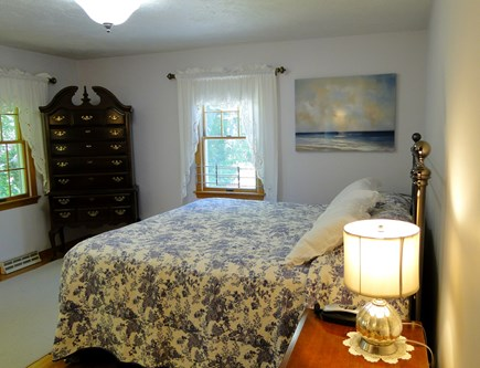 N. Falmouth-Wild Harbour Estat Cape Cod vacation rental - Master includes two bureaus and flat screen TV.