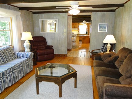 N. Falmouth-Wild Harbour Estat Cape Cod vacation rental - Living room has pull out sofa if needed