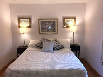 N. Falmouth-Wild Harbour Estat Cape Cod vacation rental - Queen Bedroom with new mattress.