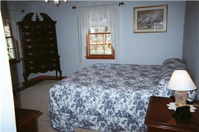 N. Falmouth-Wild Harbour Estat Cape Cod vacation rental - Master bedroom with full Master bath.