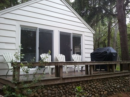 Harwich Cape Cod vacation rental - Relax on the deck