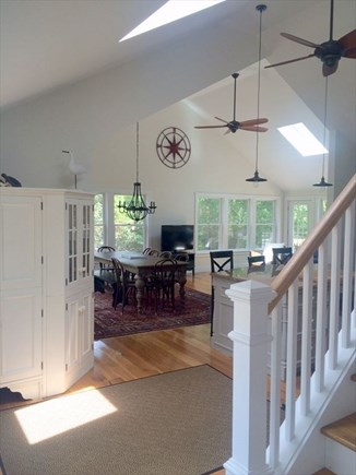 Eastham Cape Cod vacation rental - Dining room view from Entry way.