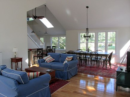 Eastham Cape Cod vacation rental - Living to Dining Area